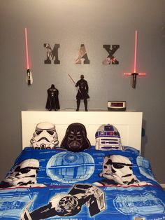 Star Wars headboard