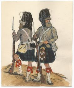 British; 93rd Highlanders, Indian Mutiny by CCP Lawson