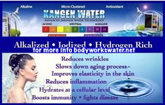 bodyworkswater.net #alkalizedwater #kangenwater #alkalinediet Stop by BodyWorks  for your Free Trial  Become Alkaline! Buy a Machine today!