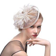 680a0c7c Women's Retro Feather / Tulle / Yarn Headpiece-Wedding / Special Occasion  Flower Fascinators Bride