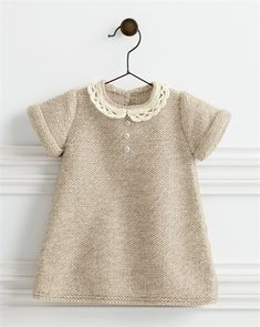 Bergere de France Lace Collar Dress Pattern