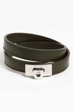 Salvatore Ferragamo   'Giri' Wrap Bracelet #salvatoreferragamo #wrap #bracelet