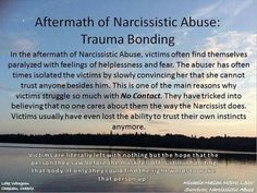 Aftermath of abuse