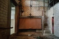 2. The abandoned slaughterhouse and meat packing plant has a somewhat gruesome history, but it's weirdly beautiful in its state of abandonment.