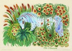 Seemingly Seamless – Petrykivka Paintings by Olena Skytsiuk   Pondly