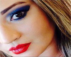O Beauty Team da NYX Manauara se inspirou no time da Inglaterra para fazer essa maquiagem com a paleta Love in Paris