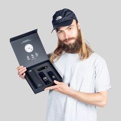 The Beard Growth Kit - Copenhagen Grooming Beard Growing Tips, Growing A Full Beard, Grow A Thicker Beard, Thick Beard, Beard Tips, Beard Ideas, Testosterone Boosting Foods, Beard Growth Kit, Hair Kit