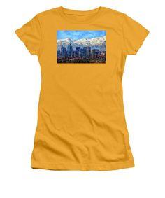 Women's T-Shirt (Junior Cut) - Santiago De Chile, Chile