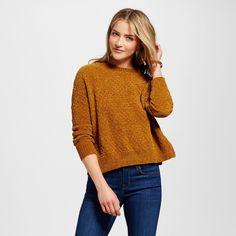 Women's Pullover Sweaters - Merona Gold Xxl