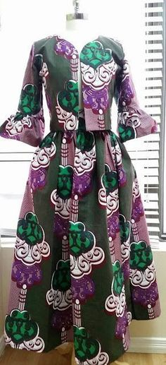 Online Hub For Fashion Beauty And Health: Fabulously Superb Ankara Skirt And Blouse Style Fo...