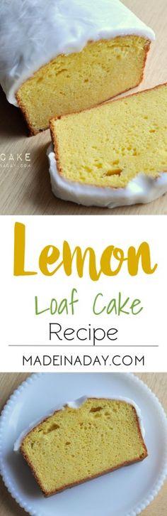 Lemon Loaf Cake Reci