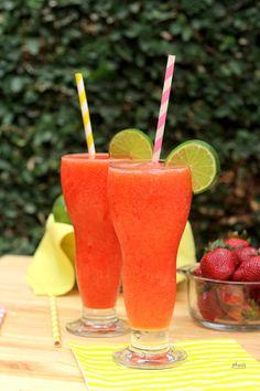 Limonada de fresa, una bebida súper refrescante para los días calurosos de verano y primavera. - Perfect strawberry lemonade - Anna