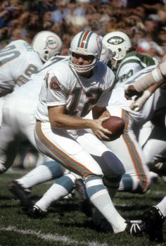 Quarterback Bob Griese of the Miami Dolphins