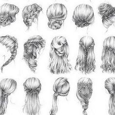 Schnelle frisuren für schulterlanges haar
