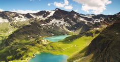 Free stock photo of aerial, alpine, ceresole reale