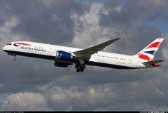 British Airways G-ZBKA Boeing 787-9 Dreamliner aircraft picture