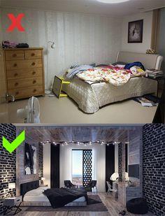 Dağınık bir Yatak Odasını Düzenlemek için Tavsiyeler