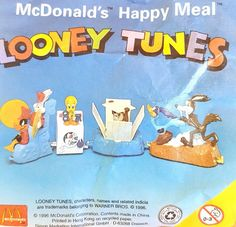 McDonalds Happy Meal Toy 1996 LOONEY TUNES Walt Disney Characters - VARIOUS     eBay
