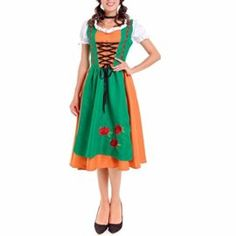V Neck Empire Waist Cami Adult Women/'s Costume With Gathering Fancy Dress