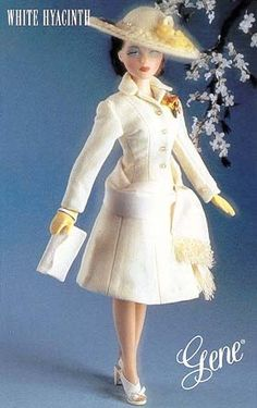 1995 gene dolls  | Gene Marshall White Hyacinth Fashion Doll Retired | LaTreasureTrove ...