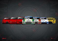 History Mazda RX7 by MauricioMassami on DeviantArt