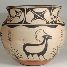 Southwest Pottery Pueblo C3513K - Adobe Gallery, Santa Fe Vidal Aguilar