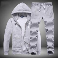 Here is Polo Jogger Outfit Picture for you. Polo Jogger Out. Jogger Outfit, Polo Jogging Suits, Polo Sweat Suits, Polo Jackets, Track Suit Men, Big Men Fashion, Herren Outfit, Camisa Polo, Sweatshirts
