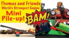 Thomas and Friends World's Strongest engine - Losing Train Falls into a ...