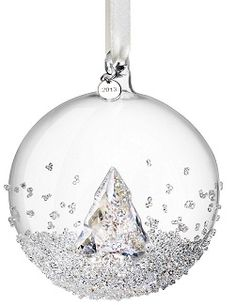 2013 Swarovski Ball Ornament Annual Edition 1st in Series. This romantic Christmas ornament is a new concept for Swarovski i