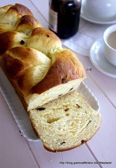 Treccia dolce di pan brioche