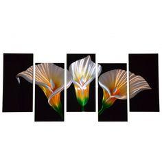 Obraz aluminiowy kwiaty