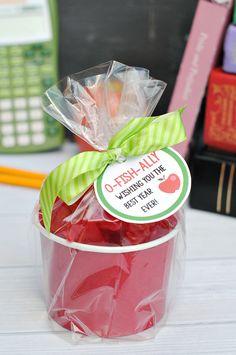 Cute Apple Teacher Gift Idea
