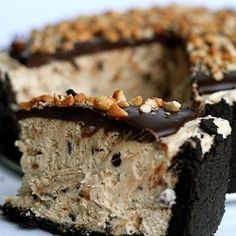 Chocolate peanut butter tort