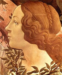 Botticelli: Birth of Venus, detail head of Hore by petrus.agricola, via Flickr