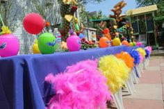 Rio the Movie / Tropical Fiesta Birthday Party Ideas Rio Party, Luau Party, Party Time, Rio Birthday Parties, 2nd Birthday, Birthday Ideas, Party Central, Childrens Party, Animal Party