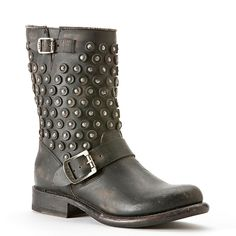 Frye boots with studs