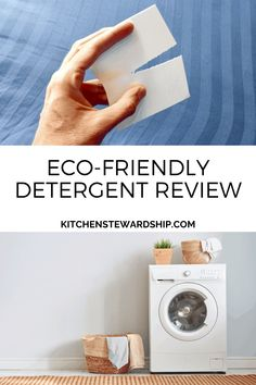 If you're looking for eco-friendly laundry detergent, check out this Tru Earth laundry strip review. Non-toxic laundry detergent that's safe for you and the environment.