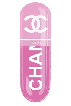 Chanel Pink 100MG - Canvas Print