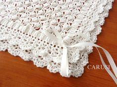 Baby Blanket Crochet Baby Blanket Baby B - Diy Crafts - hadido Crotchet Baby Blanket, Baby Snuggle Blanket, Baby Wrap Blanket, Crochet Baby Blanket Free Pattern, Crochet Edging Patterns, Manta Crochet, Crochet Baby Clothes, Knitting, Diy And Crafts