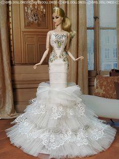 #doll #evening #gowns eifel 85 flickr/ebay / 12.33.3 qw