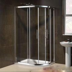 shower enclosure Bathroom Shower Enclosures, Quadrant Shower Enclosures, Bathtub, Easy, Sadie, Bathroom Ideas, Furniture, Design, Home Decor