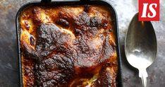 Tomi Björckin lasagne on taivaallisen hyvää – salaisuus on valkokastikkeessa Griddle Pan, French Toast, Feta, Food And Drink, Breakfast, Waiting, Foods, Lasagna, Morning Coffee