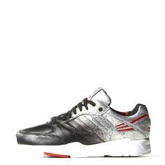 adidas Women's Rita Oa Tech Super W Silver/Black/White M19074 (SIZE: 6.5)