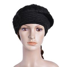 3f2d4b73927a0 Vbiger Women s Winter Beanie Berets Hat (Black) – Todays Shopping