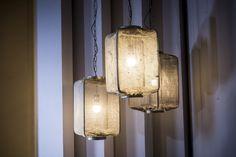 Kyla white - verlichting  Een lamp die stoer is voor in een hoge hal en romantisch voor in de slaapkamer.