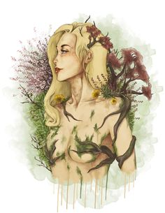 Ilustración & Diseño  Mother Nature / Madre Naturaleza