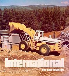 international harvester 7 yard 560 introduced in 1971 Toy Trucks, Fire Trucks, Monster Trucks, Mining Equipment, Heavy Equipment, Earth Moving Equipment, Construction Images, Old Advertisements, Truck Art