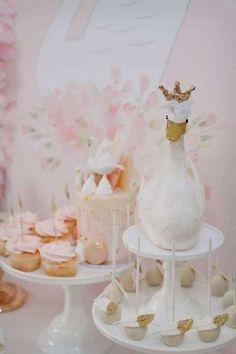 Idéias da festa de aniversário tema de cisne | Foto 1 de 79 | Pegar minha festa