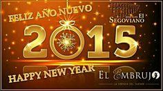 """Complejo Jose Luis """" El Segoviano """" os desea feliz año nuevo"""