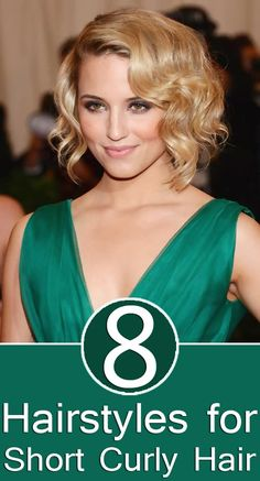 8 Hairstyles for Short Curly Hair. This might work.